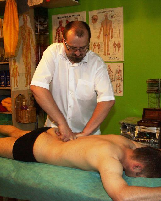 masaż i nastwaianie kręgosłupa Rybczyński